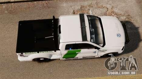 Ford F-150 v3.3 Border Patrol [ELS & EPM] v3 para GTA 4 vista direita