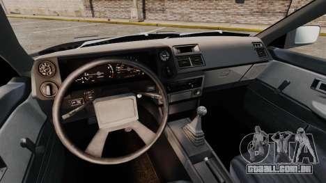 Toyota Corolla GT-S AE86 Trueno para GTA 4