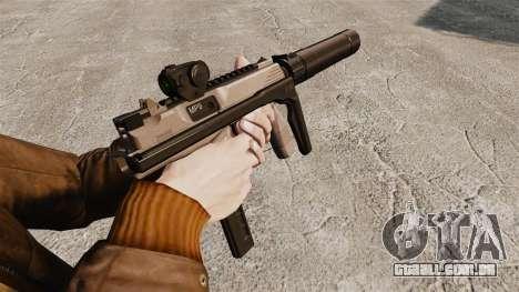 Tático MP9 metralhadora v1 para GTA 4 segundo screenshot