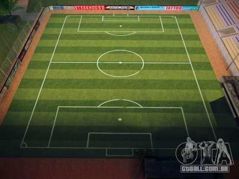 Campo de futebol para GTA San Andreas quinto tela