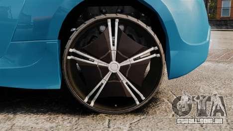 Nissan 370Z Tuning para GTA 4 vista de volta