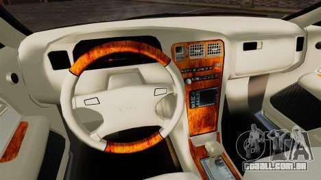 Toyota Mark II 1990 v1 para GTA 4 vista interior