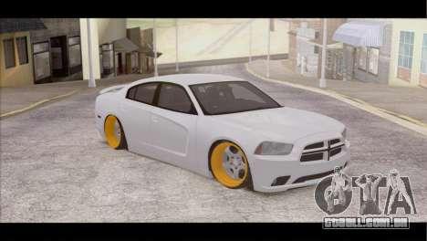 Dodge Charger SRT8 para GTA San Andreas vista direita