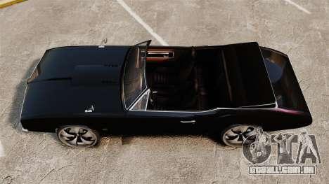 Garanhão nos drives de 22 polegadas para GTA 4 vista direita