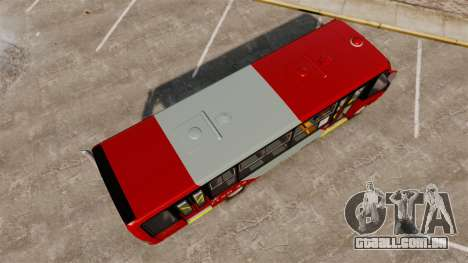 Mercedes-Benz Neobus Thunder LO-915 para GTA 4 vista de volta