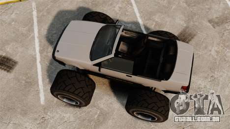 Futo Monster Truck para GTA 4 vista direita
