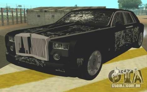 Rolls-Royce Phantom para GTA San Andreas vista interior