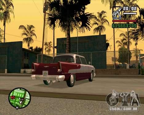 Oceanic HD para GTA San Andreas traseira esquerda vista