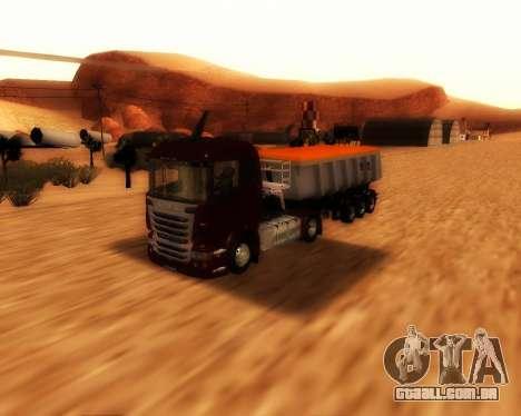 Reboque carga Schmitz Bull para GTA San Andreas vista direita