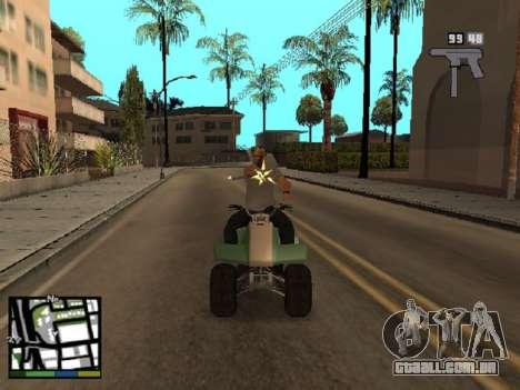 Trevor Philips de GTA 5 para GTA San Andreas por diante tela