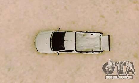 Dacia Duster Pick-up para vista lateral GTA San Andreas