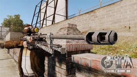 Halo Reach espingarda SRS 99 para GTA 4 terceira tela