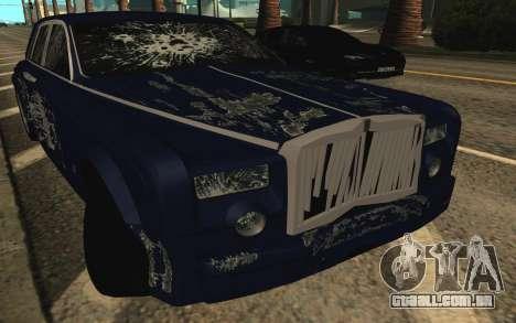 Rolls-Royce Phantom para o motor de GTA San Andreas
