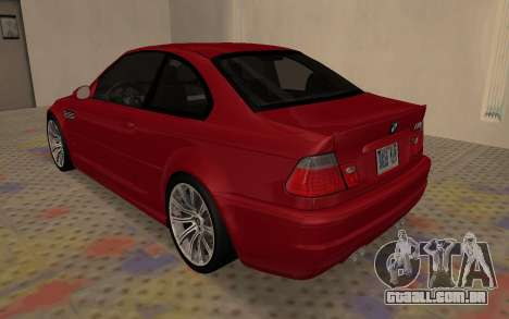 BMW M3 E46 2005 Body Damage para GTA San Andreas vista direita