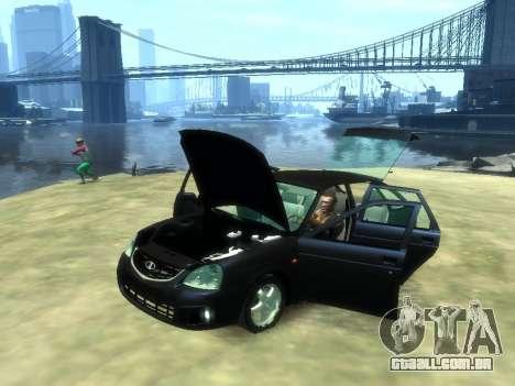 Lada Priora para GTA 4 vista direita