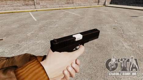 Autocarregáveis v2 de pistola Glock 17 para GTA 4 segundo screenshot