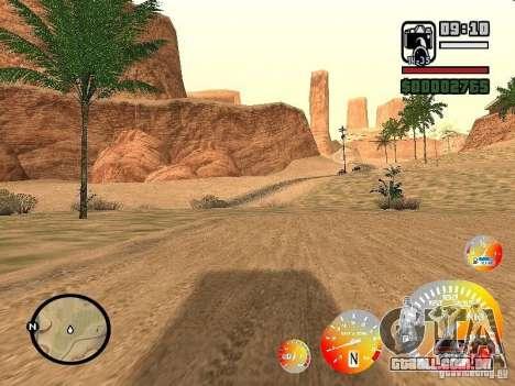 Dirigindo um 3.0 para GTA San Andreas segunda tela