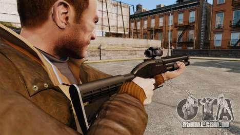 Espingarda tático v1 para GTA 4 segundo screenshot