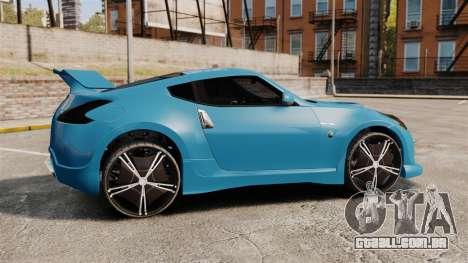 Nissan 370Z Tuning para GTA 4 esquerda vista