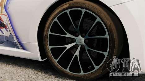Maserati MC Stradale Infinite Stratos para GTA 4 vista de volta
