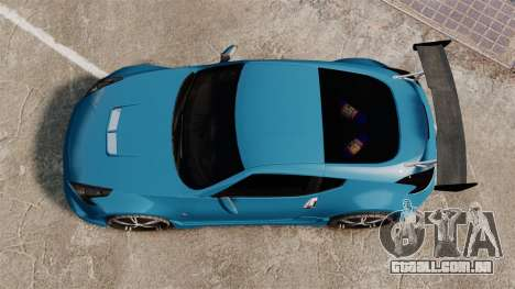 Nissan 370Z Tuning para GTA 4 vista direita