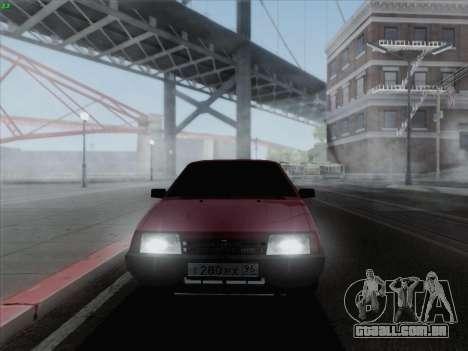 VAZ 21093i para GTA San Andreas esquerda vista