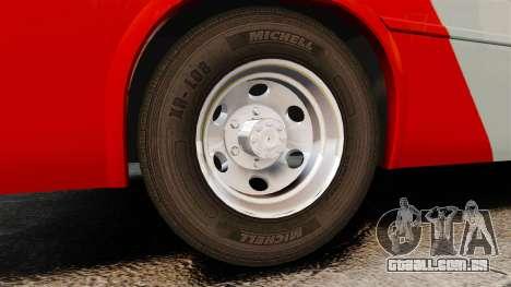 Mercedes-Benz Neobus Thunder LO-915 para GTA 4 vista interior