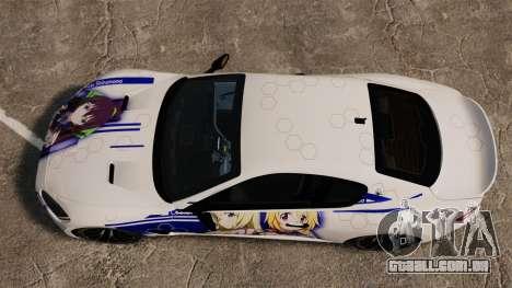 Maserati MC Stradale Infinite Stratos para GTA 4 vista direita