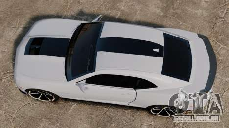 Chevrolet Camaro ZL1 2012 para GTA 4 vista direita