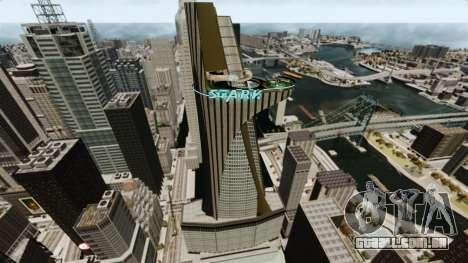 Ferro homem IV v 2.0 para GTA 4 segundo screenshot