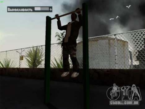 Barra horizontal para GTA San Andreas segunda tela