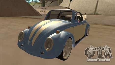 VW Beetle 1969 para GTA San Andreas