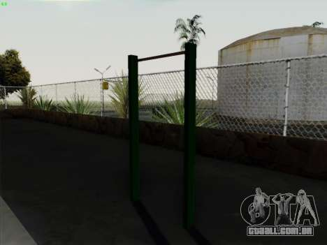 Barra horizontal para GTA San Andreas terceira tela