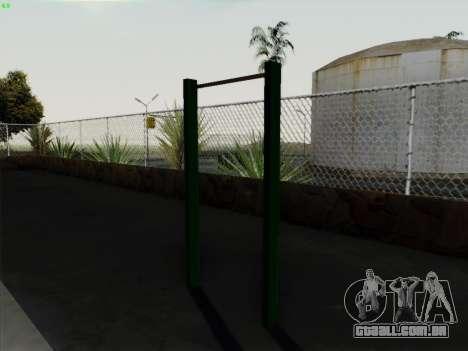 Barra horizontal para GTA San Andreas terceira tela