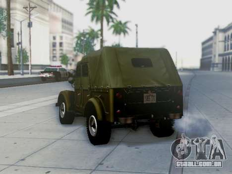 UAZ-69A para o motor de GTA San Andreas