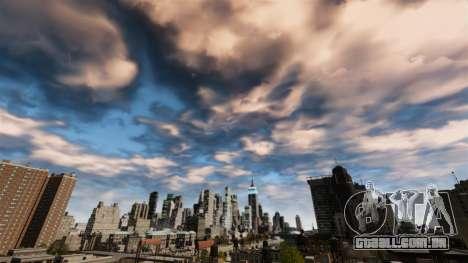Novo dia e noite céu para GTA 4