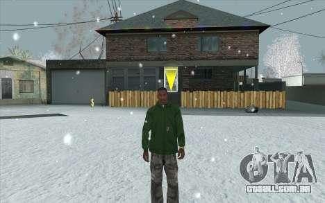 Snow San Andreas 2011 HQ - SA:MP 1.1 para GTA San Andreas décimo tela