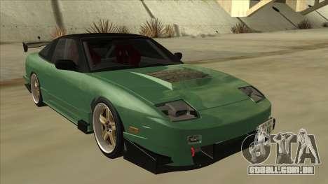 Nissan 180SX Uras GT para GTA San Andreas esquerda vista