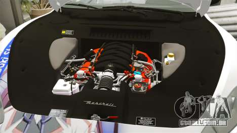 Maserati MC Stradale Infinite Stratos para GTA 4 vista lateral
