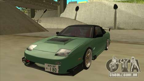 Nissan 180SX Uras GT para GTA San Andreas