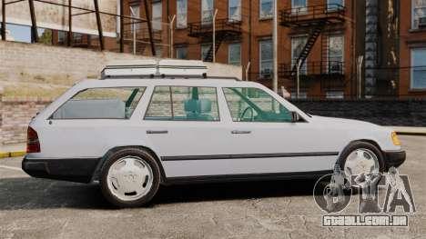 Mercedes-Benz W124 Wagon (S124) para GTA 4 esquerda vista