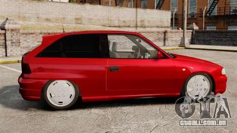 Opel Astra GSi 1993 para GTA 4 esquerda vista