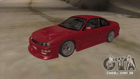 Nissan Silvia S14 RB26DETT Black Revel para GTA San Andreas