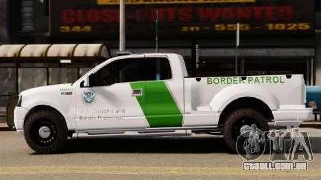 Ford F-150 v3.3 Border Patrol [ELS & EPM] v3 para GTA 4 esquerda vista