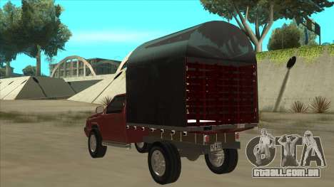 Chevrolet Luv 2.500 diesel para GTA San Andreas vista traseira