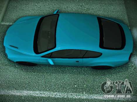 Bentley Continental GT para GTA San Andreas traseira esquerda vista