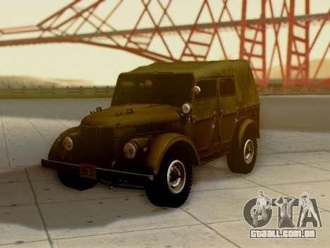 UAZ-69A para as rodas de GTA San Andreas