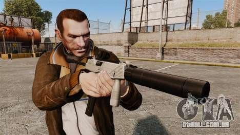 Tático MP9 metralhadora v3 para GTA 4