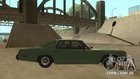 Dodge Monaco V10 para GTA San Andreas traseira esquerda vista