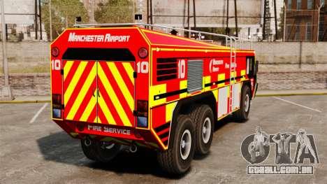 Camion Hydramax AERV v2.4-EX Manchester para GTA 4 vista direita